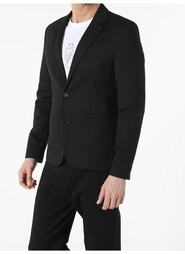 Colin's Siyah Slim Fit Erkek Ceket Siyah